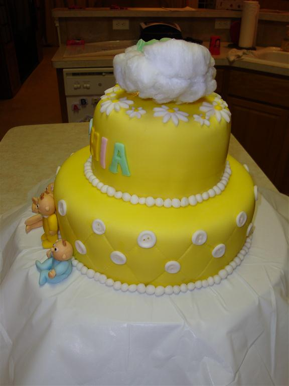 Marissa's Baby Shower Cake