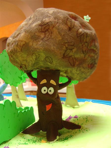 Sydney s Third Birthday  Dora the Explorer Dora The Explorer The Chocolate Tree