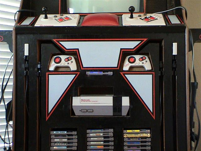 Welcome to the old NES Cabinet